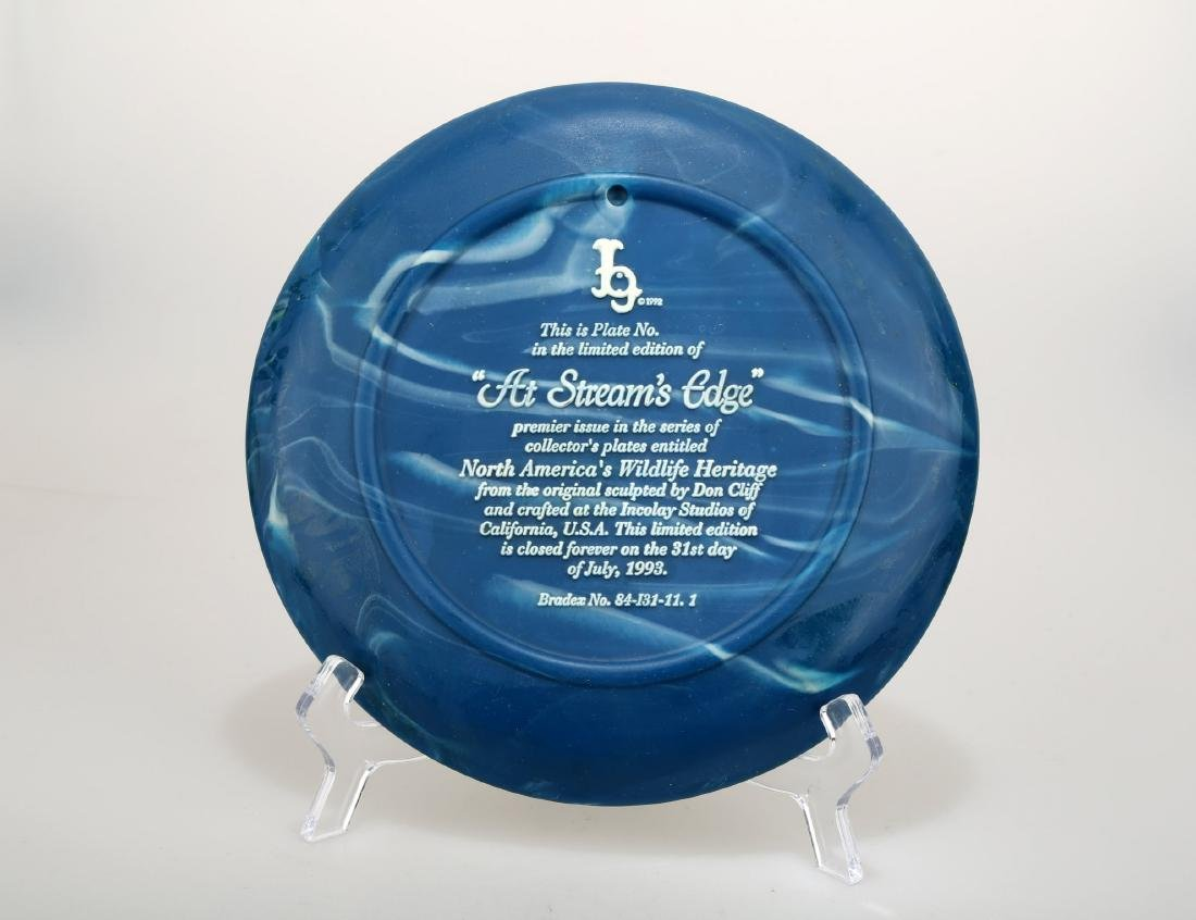 Collector's Plate by Don Cliff.C284. - 4