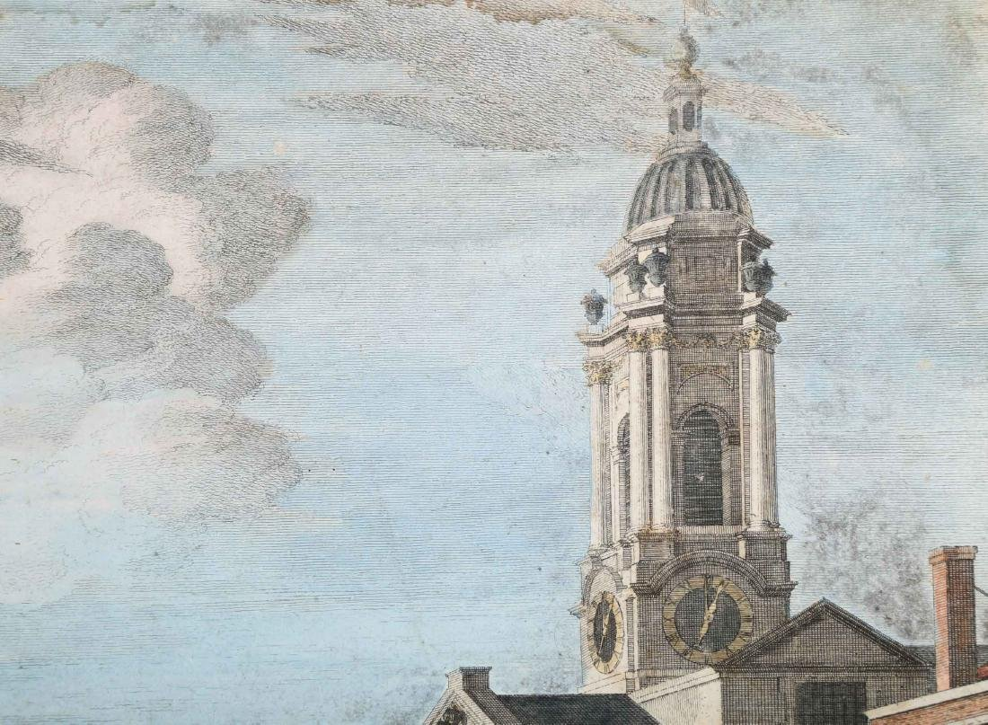 """A ENGLISH ENGRAVING """"VIEW OF ST. GEORGE"""" BOYDELL, 18TH - 4"""