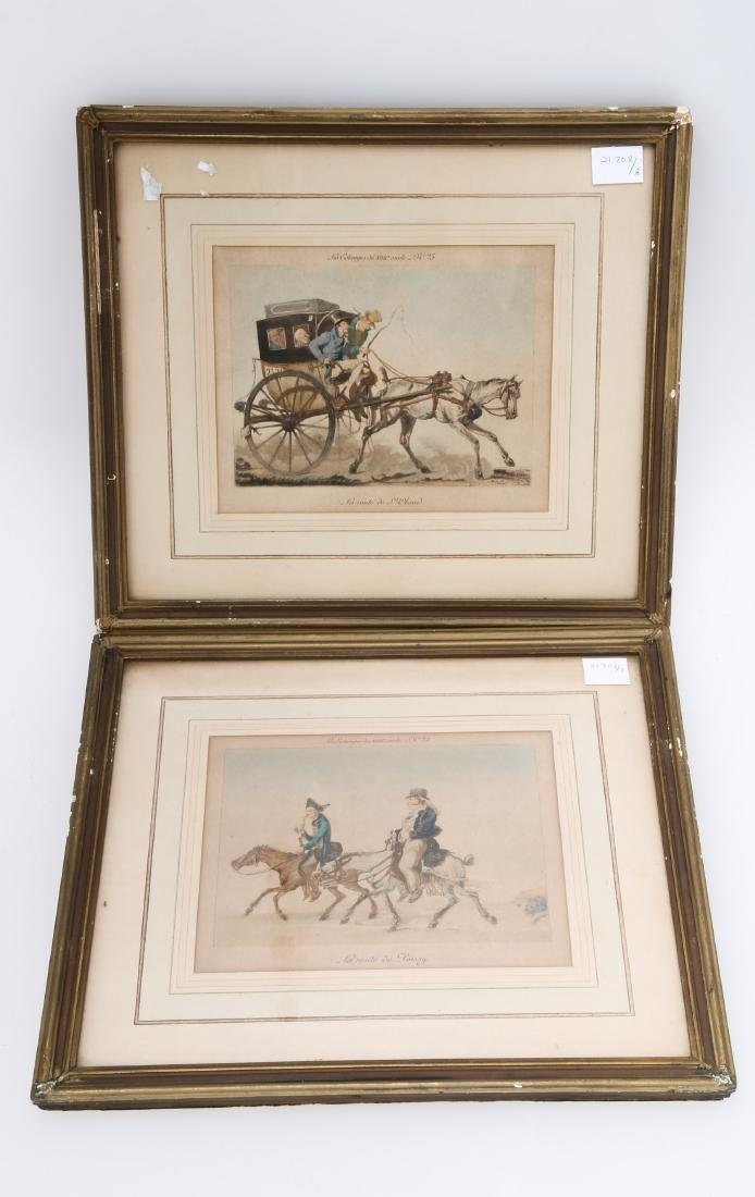 (2)  PAIR OF FRAMED PRINTS 4.OH021.