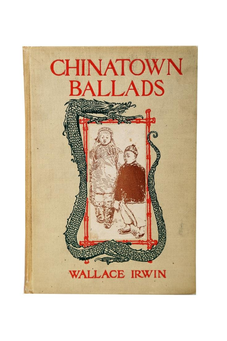 A BOOK OF CHINA TOWN BALLADS IN 1906.B030.
