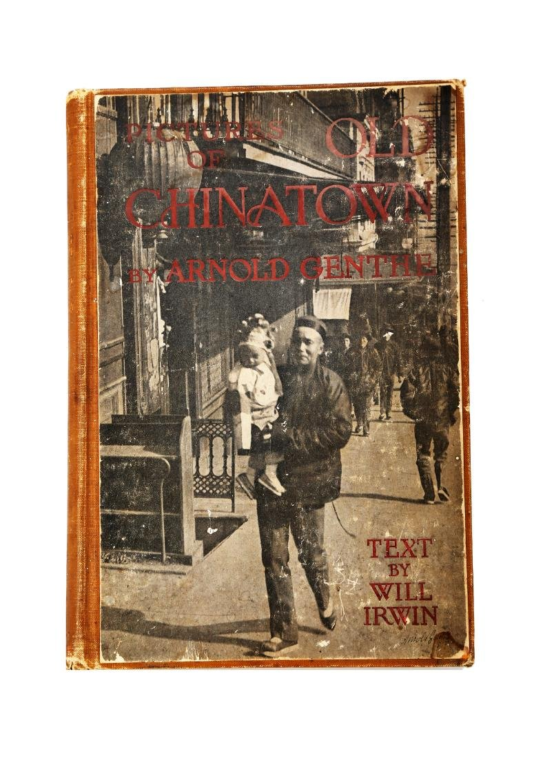 A BOOK OF PICTURES OF CHINA TOWN BY ARNOLD GENTHE