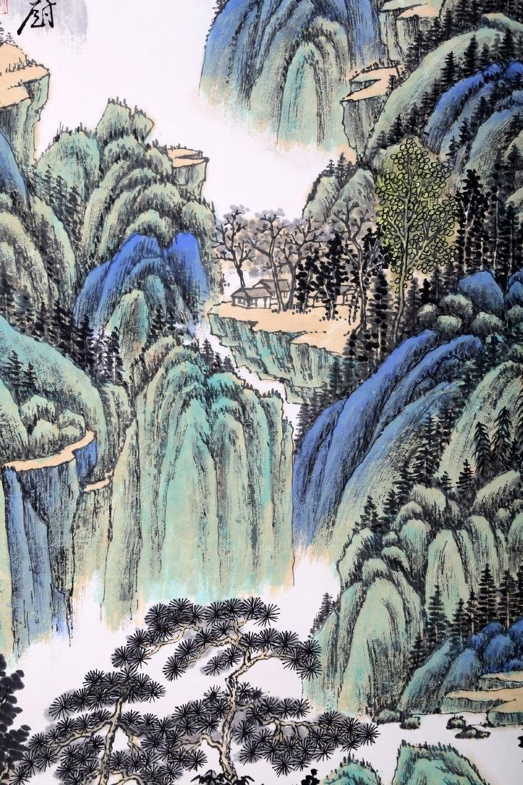 ATTRIBUTED AND SIGNED ZHANG DAQIAN (1899-1983). A INK - 7