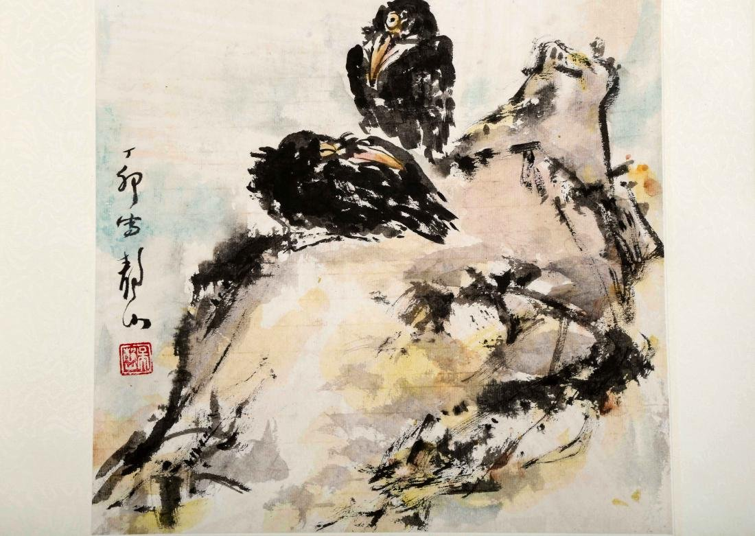 ATTRIBUTED AND SIGNED WU JINGSHAN (1943- ). A INK AND