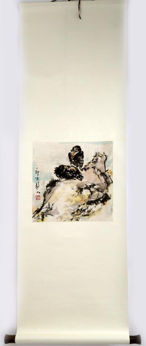 ATTRIBUTED AND SIGNED WU JINGSHAN (1943- ). A INK AND - 2
