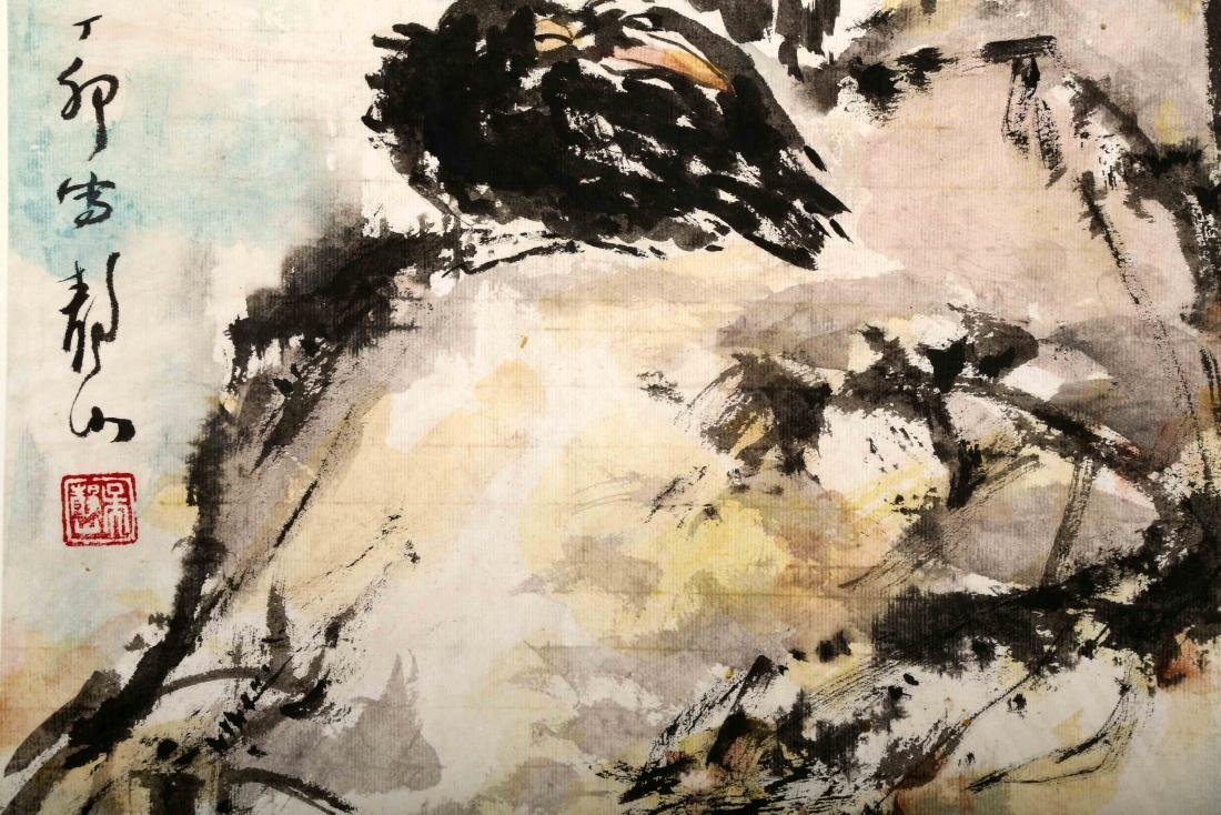 ATTRIBUTED AND SIGNED WU JINGSHAN (1943- ). A INK AND - 4