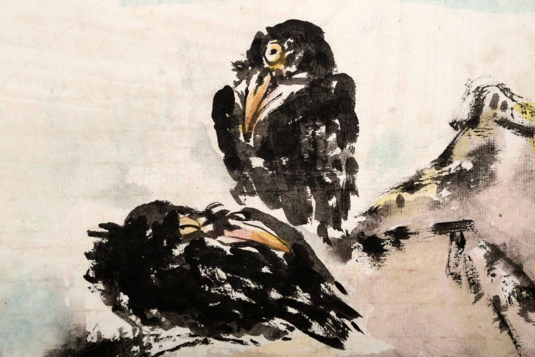 ATTRIBUTED AND SIGNED WU JINGSHAN (1943- ). A INK AND - 5