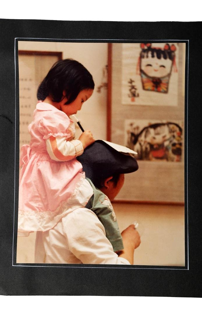 (2)  A PAIR OF CHINESE PHOTOS BY WU WEI - 2