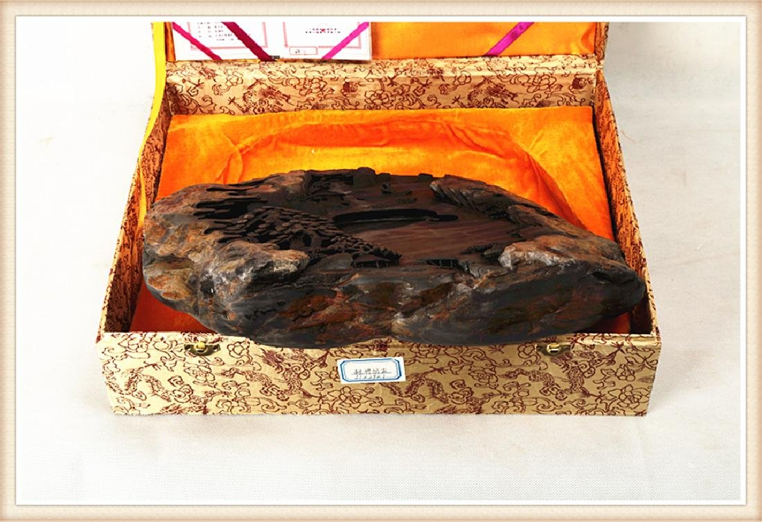 LARGE DUAN INK STONE PRODUCED BY THE WELL KNOWN - 9