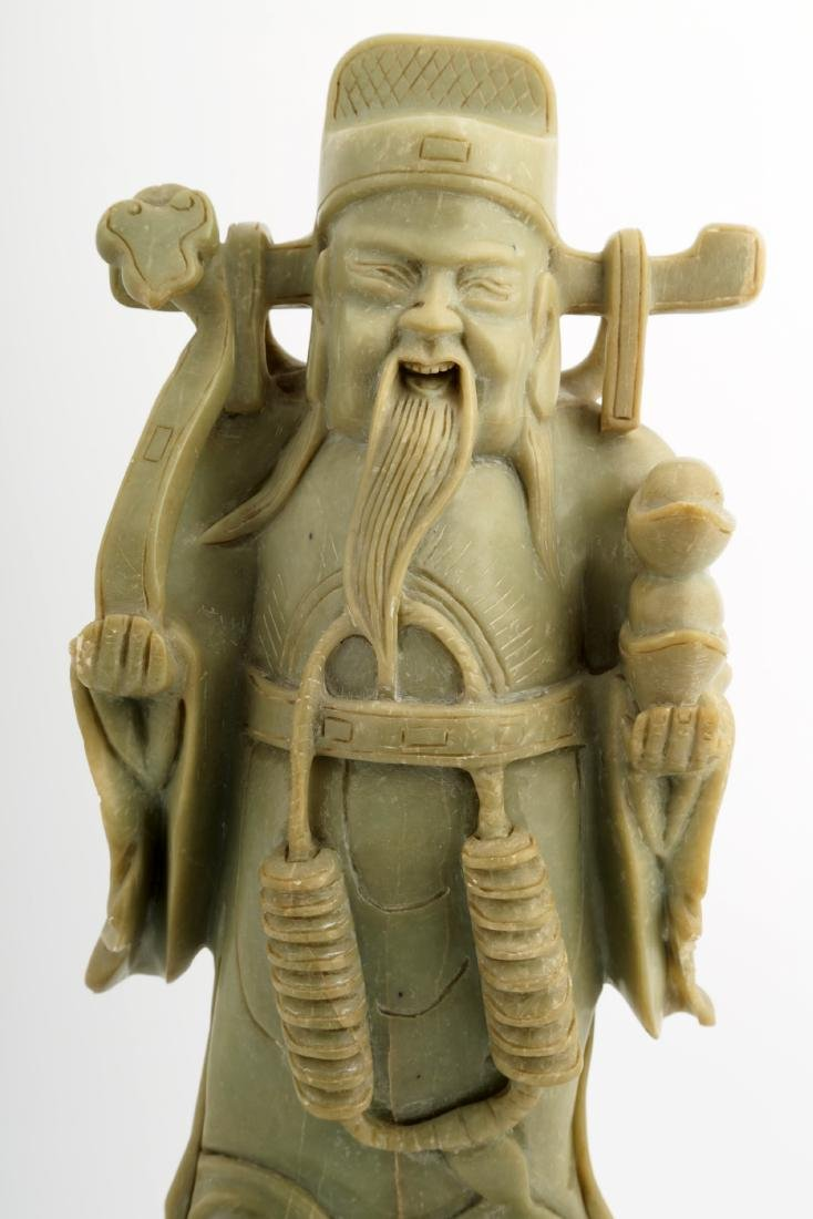 THE GOD OF WEALTH JADE STATUES - 4
