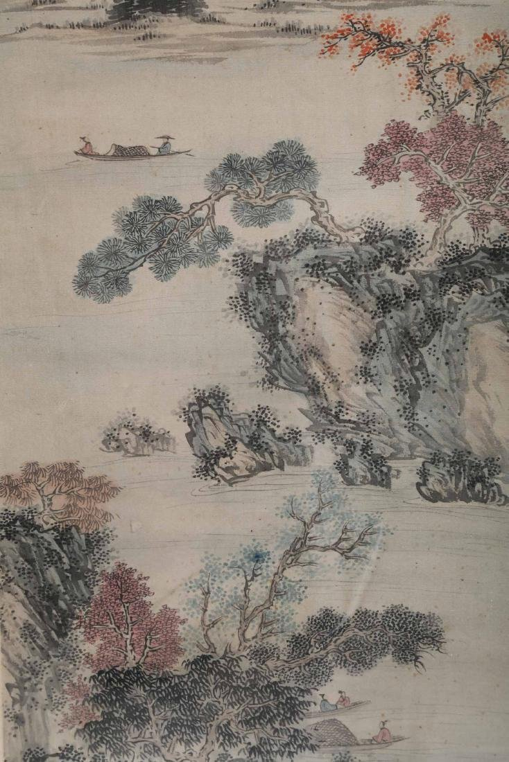 ATTRIBUTED AND SIGNED FU RU (1896-1963). A INK AND - 4