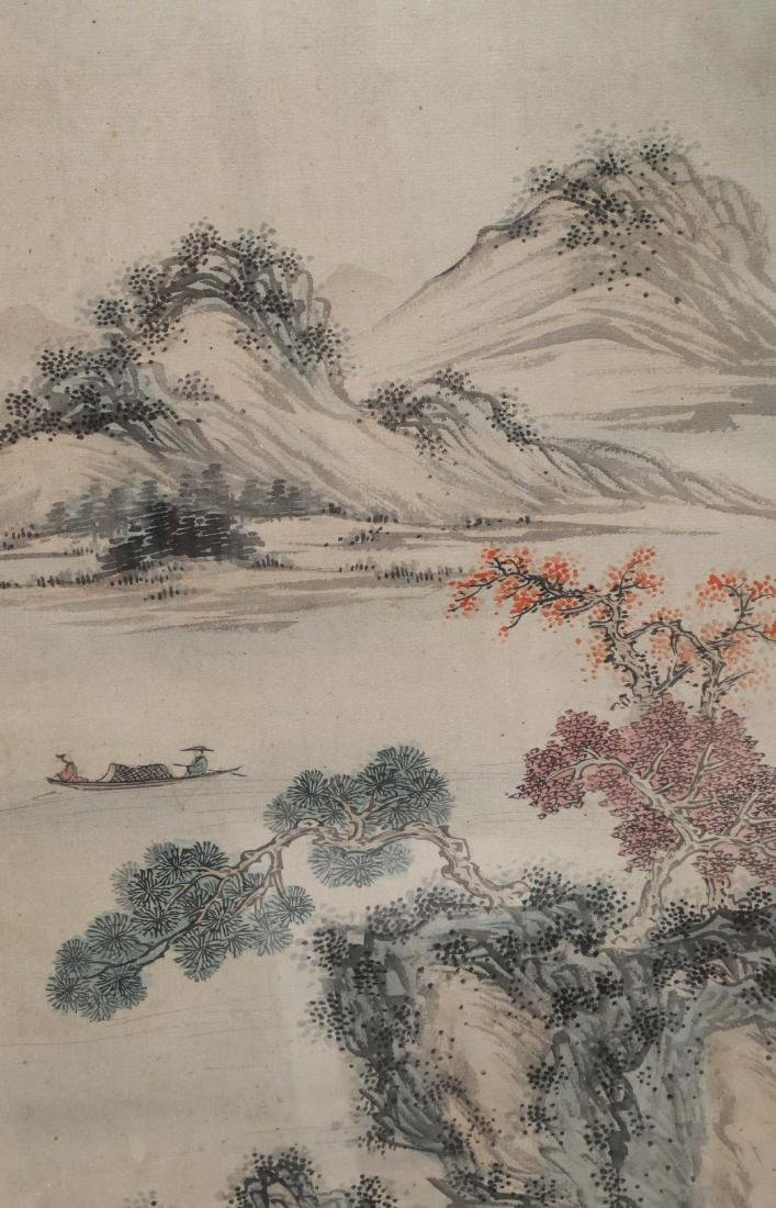 ATTRIBUTED AND SIGNED FU RU (1896-1963). A INK AND - 5