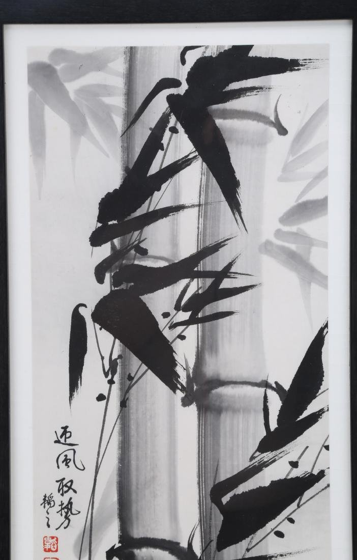ATTRIBUTED AND SIGNED DUAN GUANZHI (1933-  ). A INK AND - 2