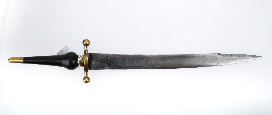 A PLUG BAYONET, 17TH/18TH CENTURY.J051. - 2