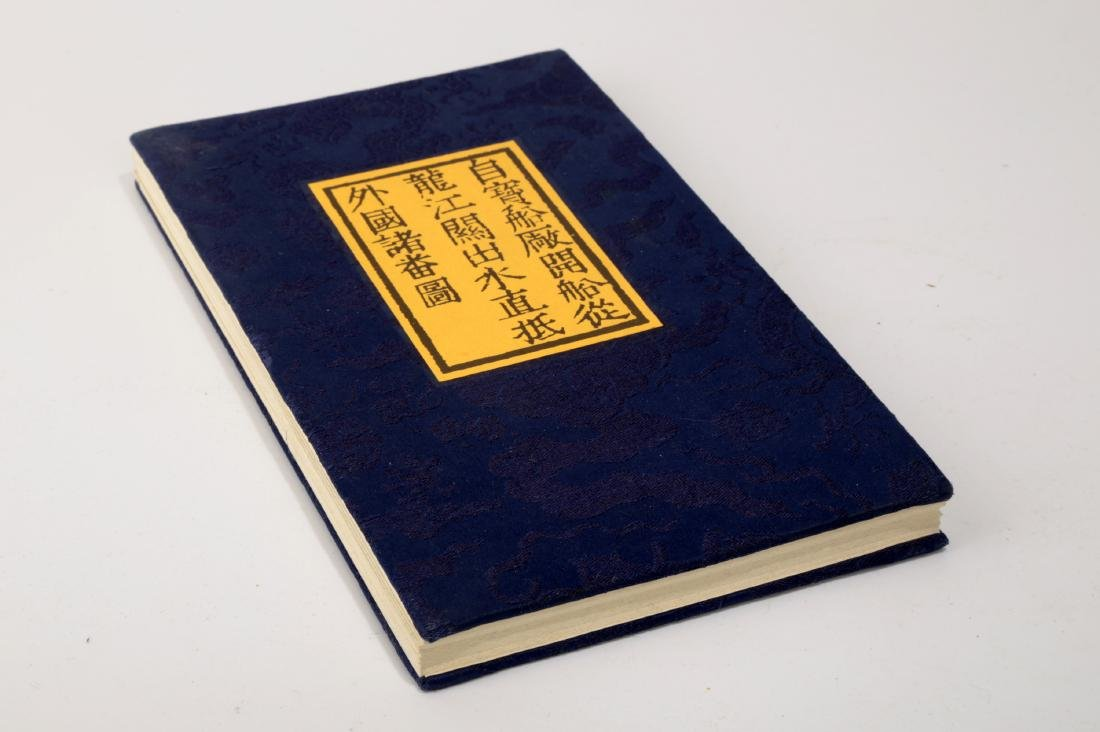 A PACK BY FOLD BUDDHIST SUTRA BOOK. HARDCOVER.B004.