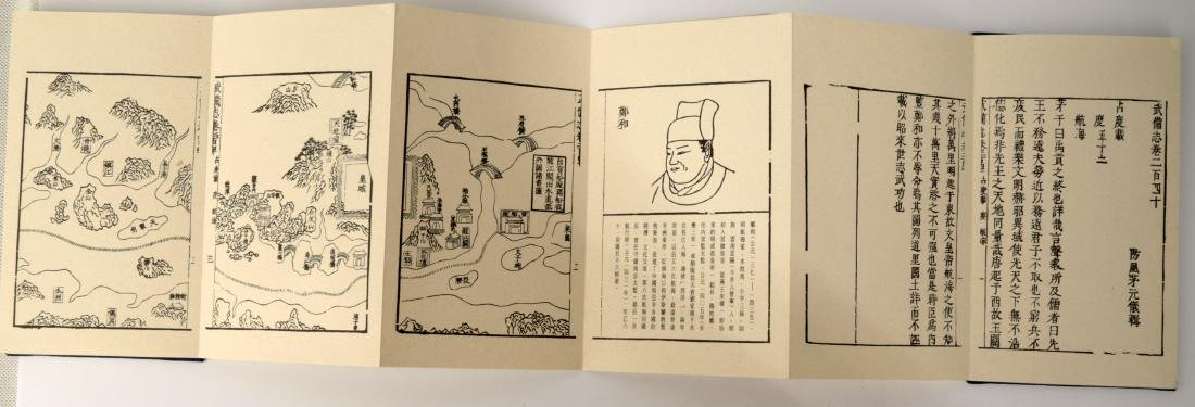 A PACK BY FOLD BUDDHIST SUTRA BOOK. HARDCOVER.B004. - 3