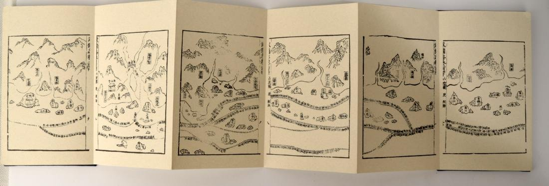 A PACK BY FOLD BUDDHIST SUTRA BOOK. HARDCOVER.B004. - 4