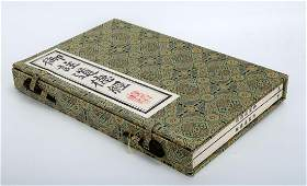 2  A SET OF TWO ENGRAVED WOOD BLOCK PRINTING BOOKS