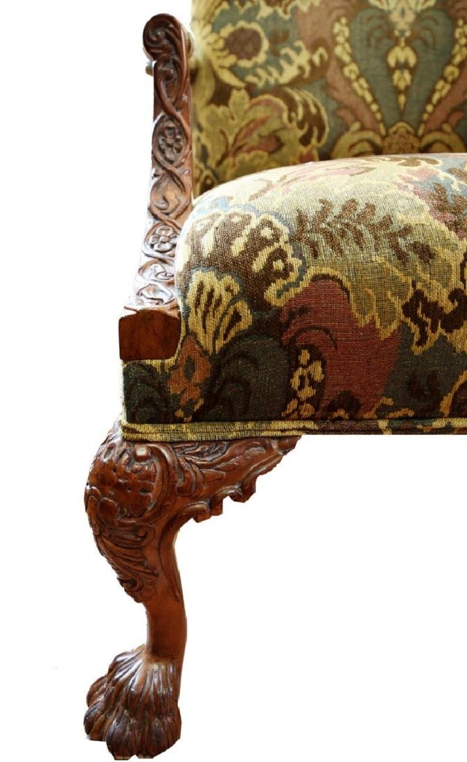 (2)  PAIR OF KING/QUEEN THRONE ROCOCO ARM CHAIR. - 6