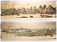 ATTRIBUTED AND SIGNED ZHANG DAQIAN (1899-1983). A INK