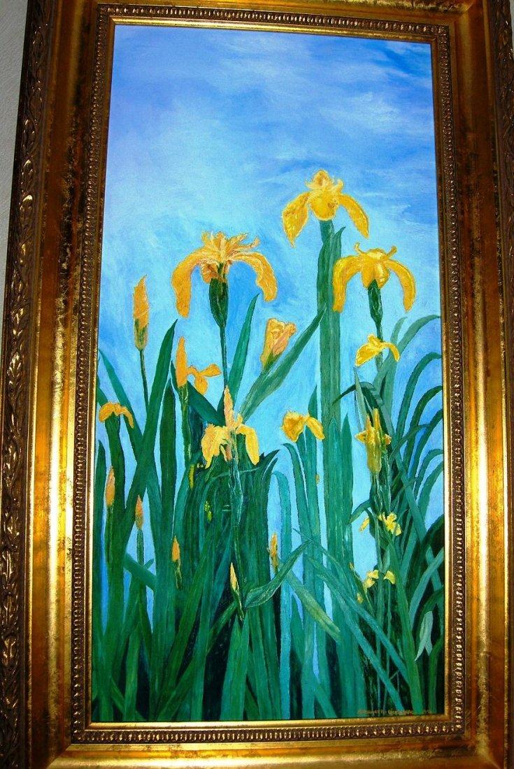 Irises, Margareth Giskegaard