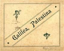 """Galilea, Palestina."" Photo album - Palestine. Start of"