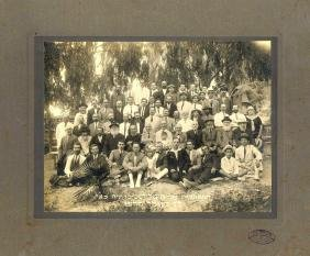 Five Group Photographs - Land of Israel - Early 20th