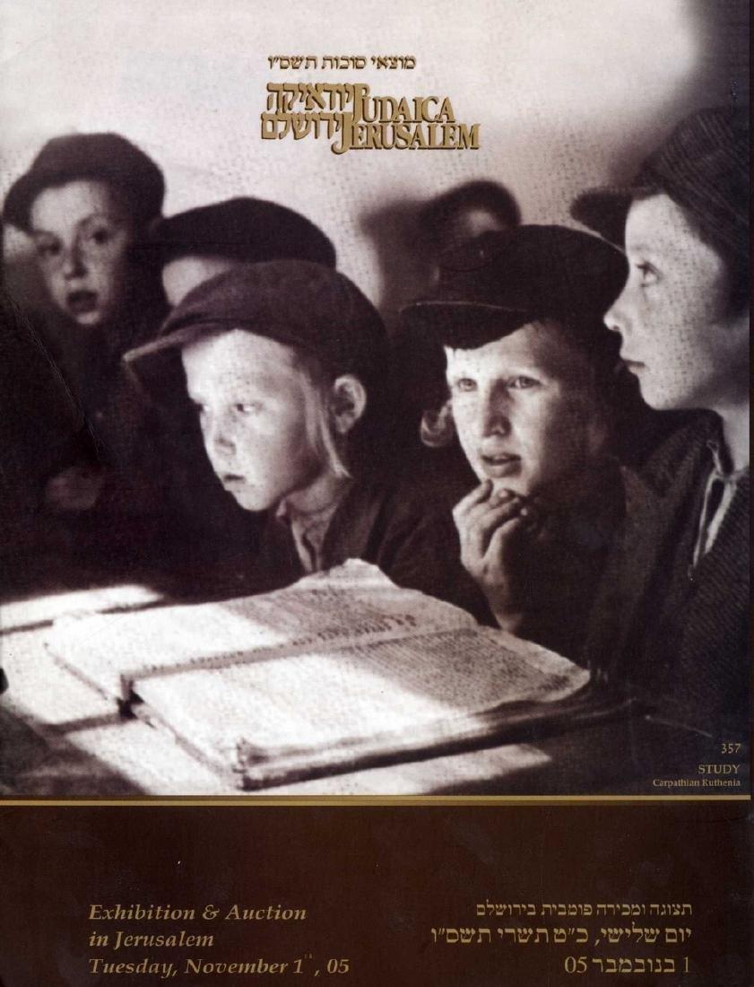Collection of [85] 'Judaica Jerusalem' catalogues