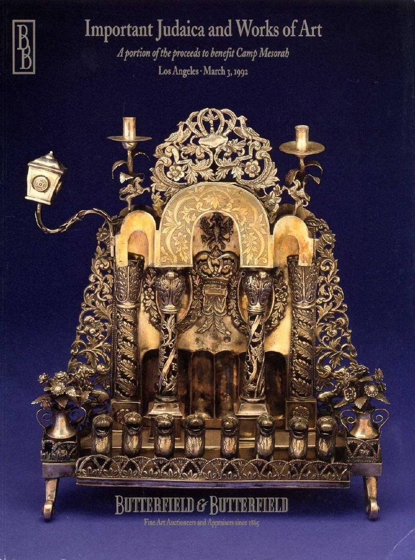 Collection of [20] Judaica catalogues from various