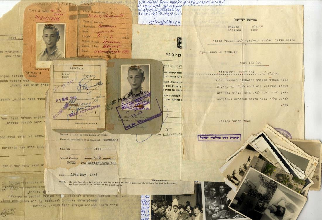 A Collection of Documents and Pictures of a Jewish