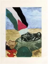 Booklet describing Arabic anti-Semitism in Syrian