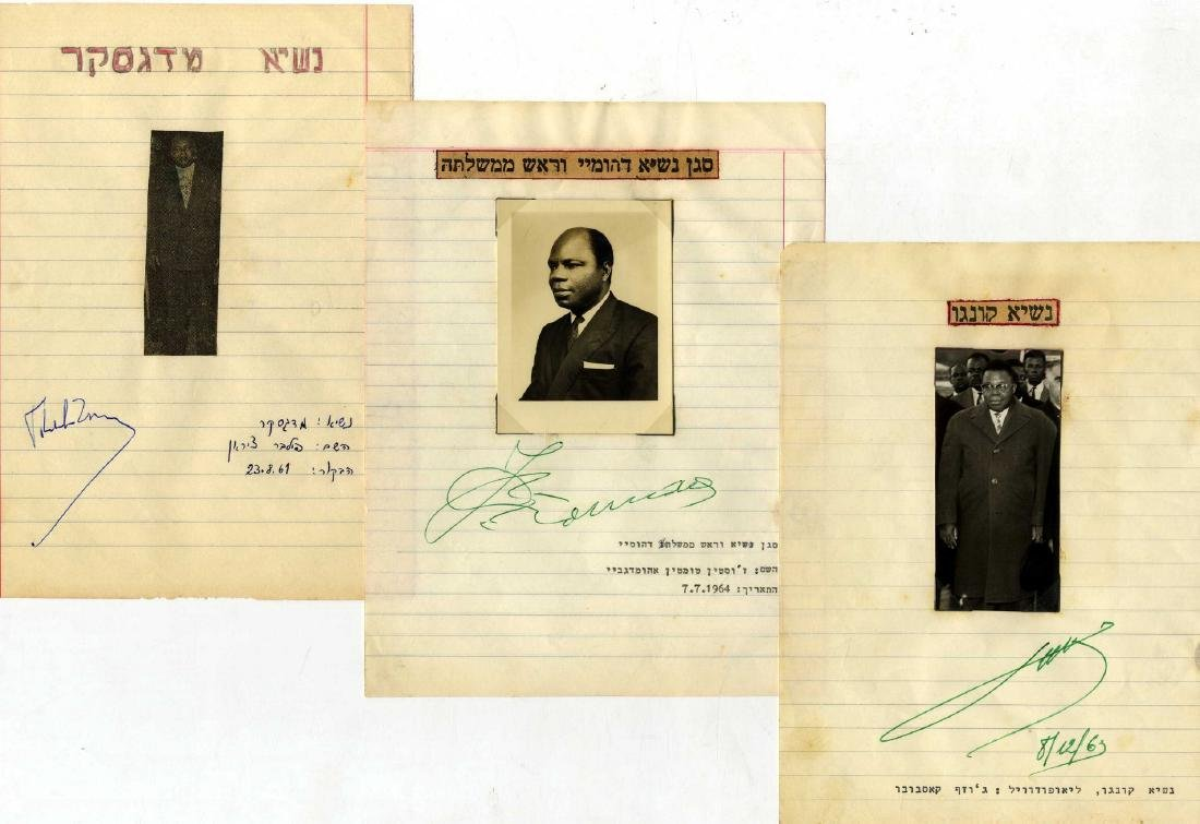 Collection of Autographs [and Pictures] of Presidents