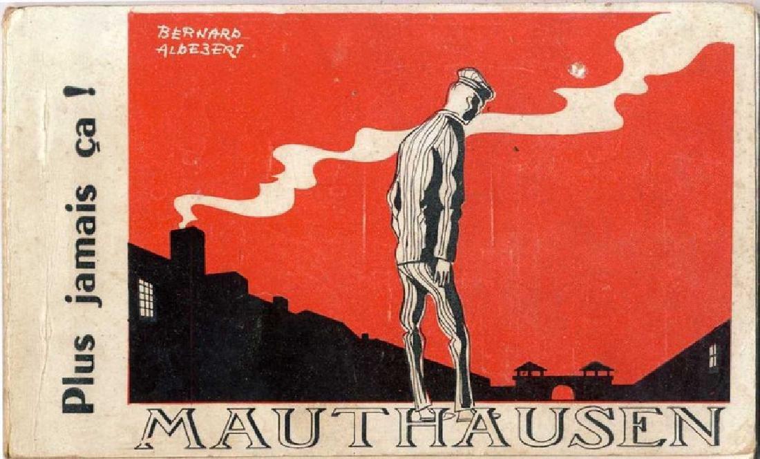 Postcard Binder - Mauthausen Concentration Camp, Paris