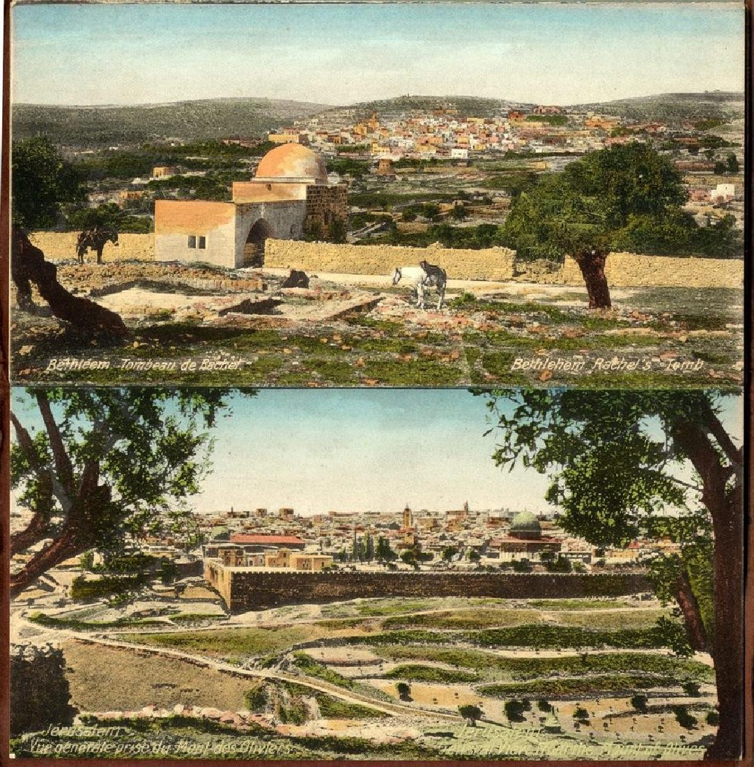 Souvenir Picture Binder - Jerusalem and Bethlehem,
