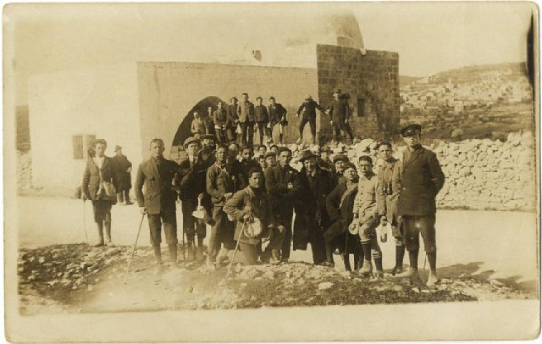 A Photograph of the 'Hebrew Battalions' at Rachel's