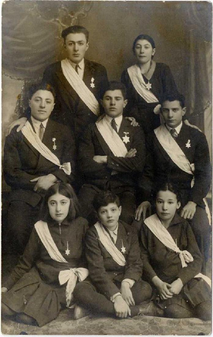Photograph of the Jewish Medal Recipients Who