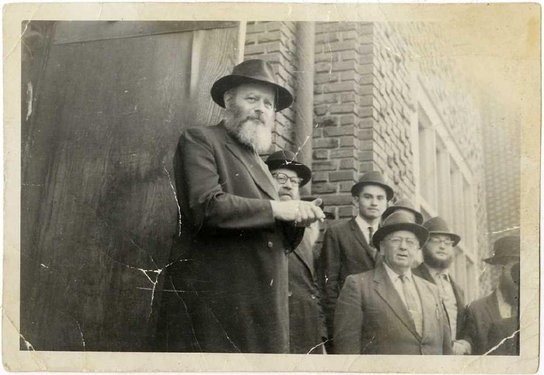 Four Photographs of Admor Rabbi Menachem Mendel