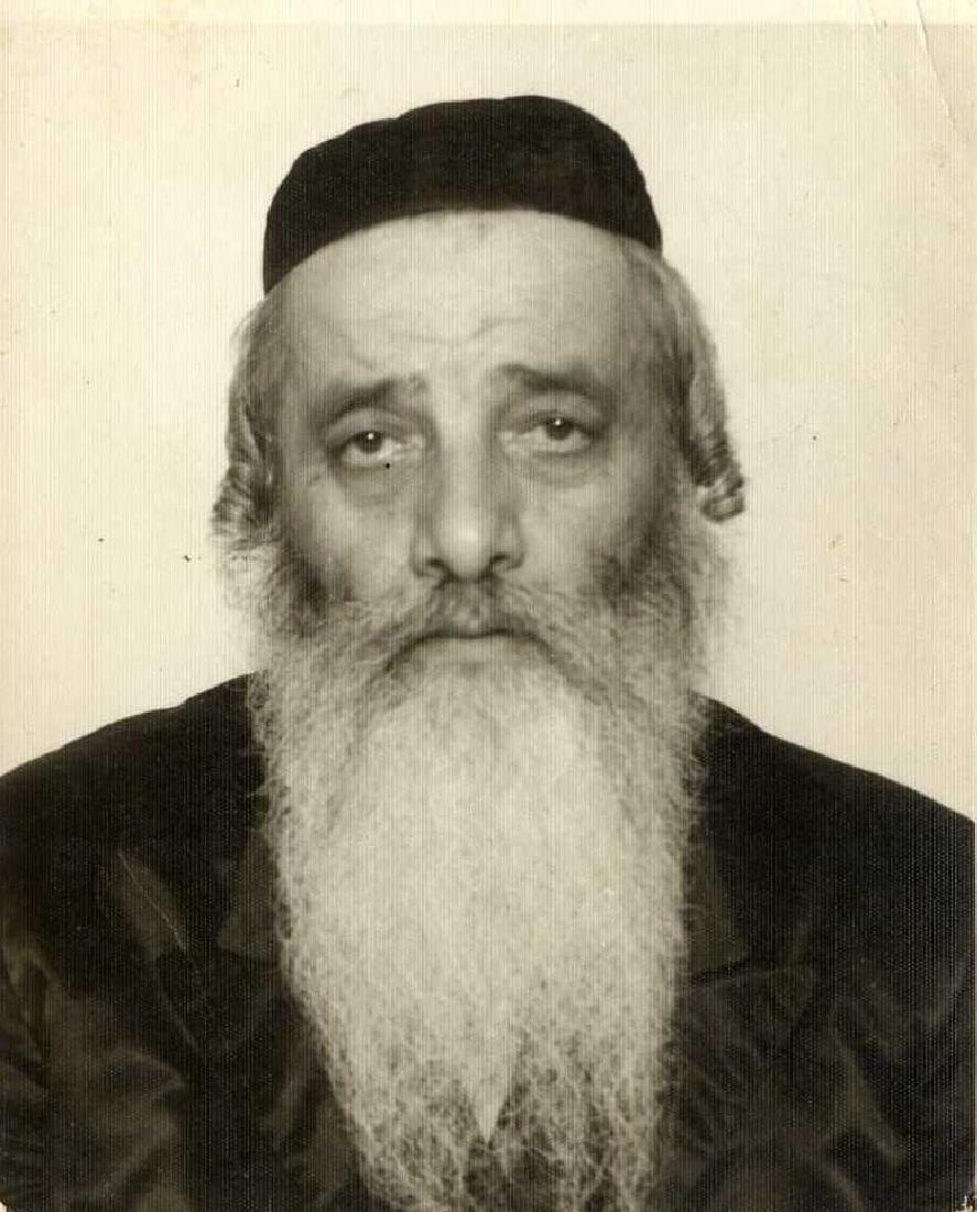 Collection of Rabbinical Photos, 20th Century
