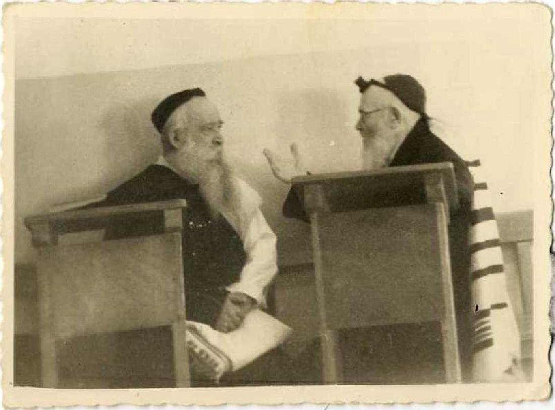 Collection of Photos of Rabbis