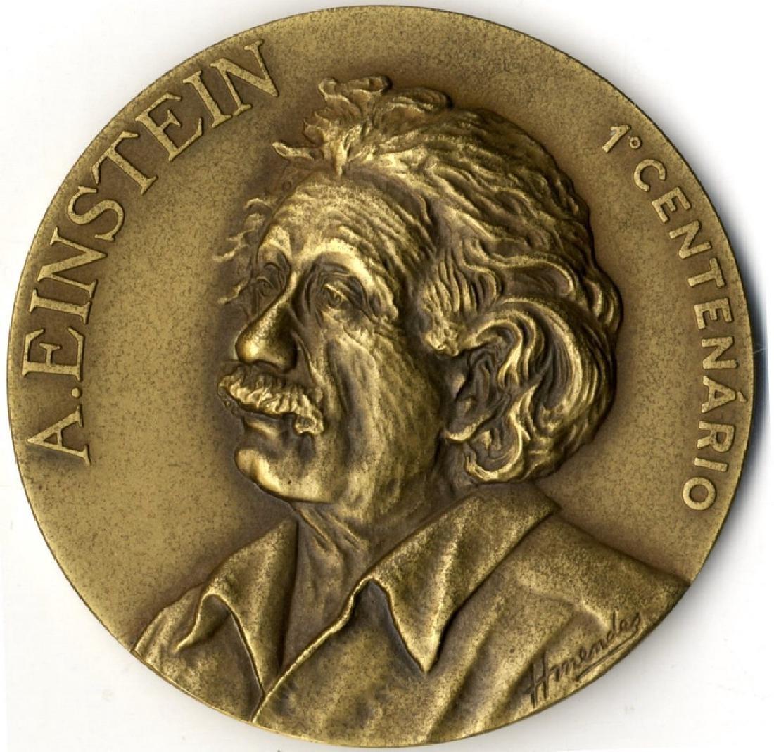 Albert Einstein - Bronze Medal