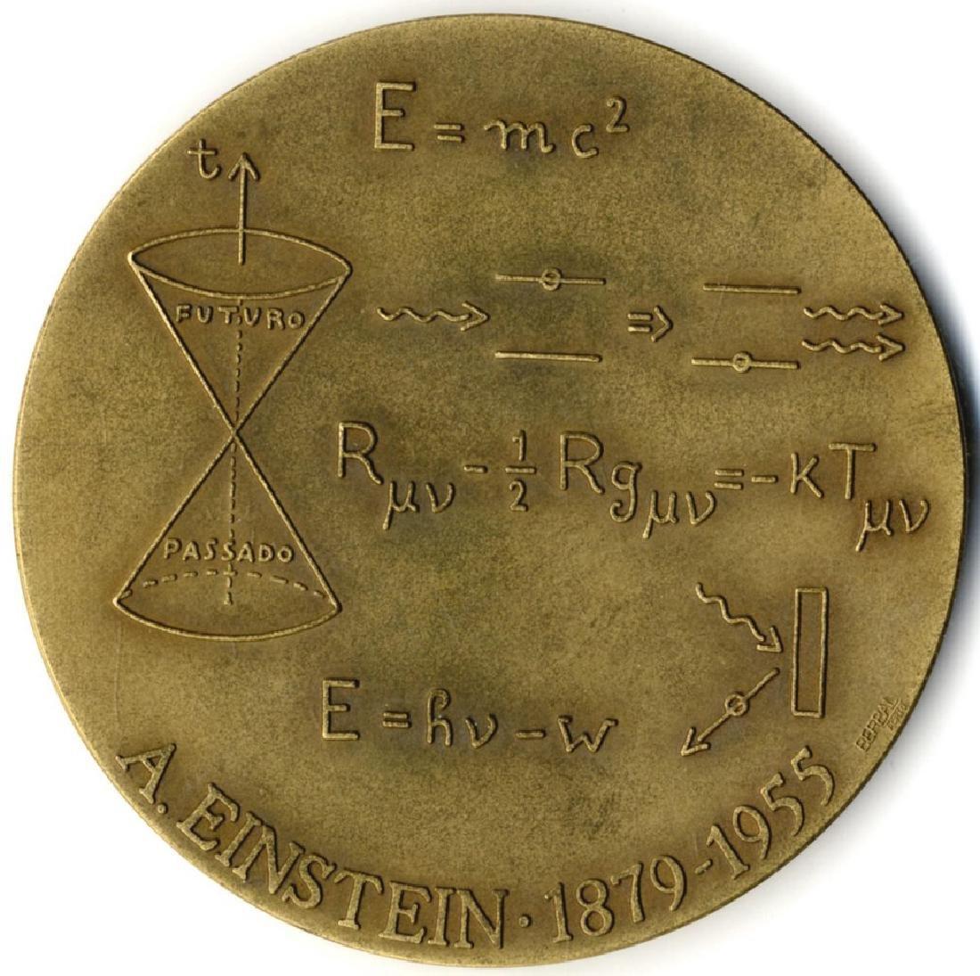 Albert Einstein - Bronze Medal - 2