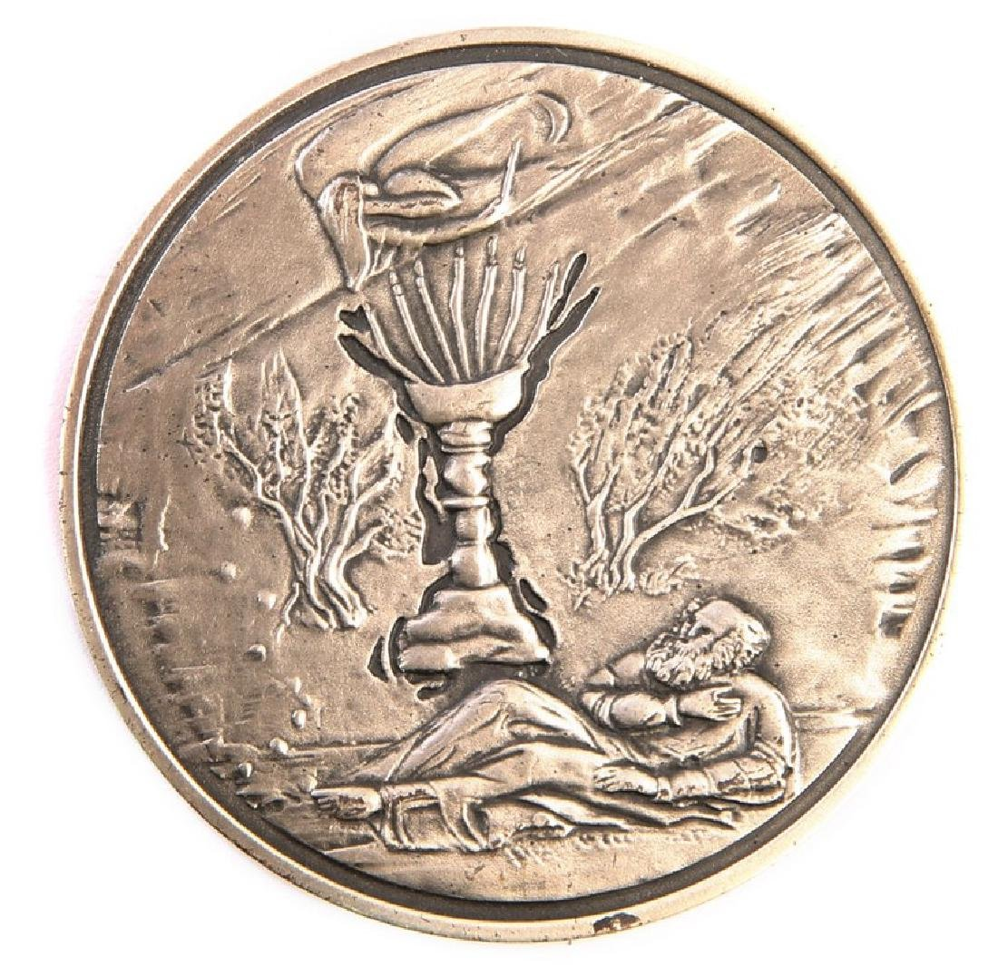 Silver Medal - Zechariah the Prophet, Designed by C.