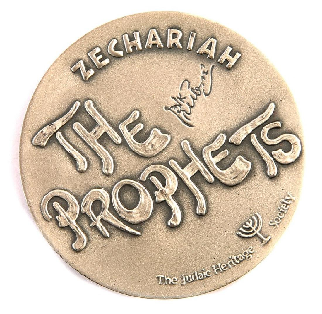 Silver Medal - Zechariah the Prophet, Designed by C. - 2