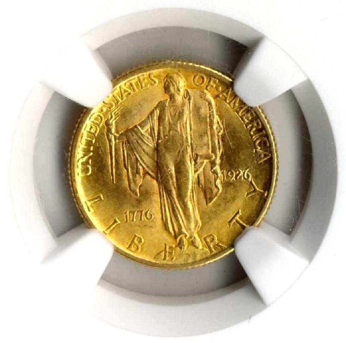 Gold Coin $2.5 - 1926 Rated by the NGC