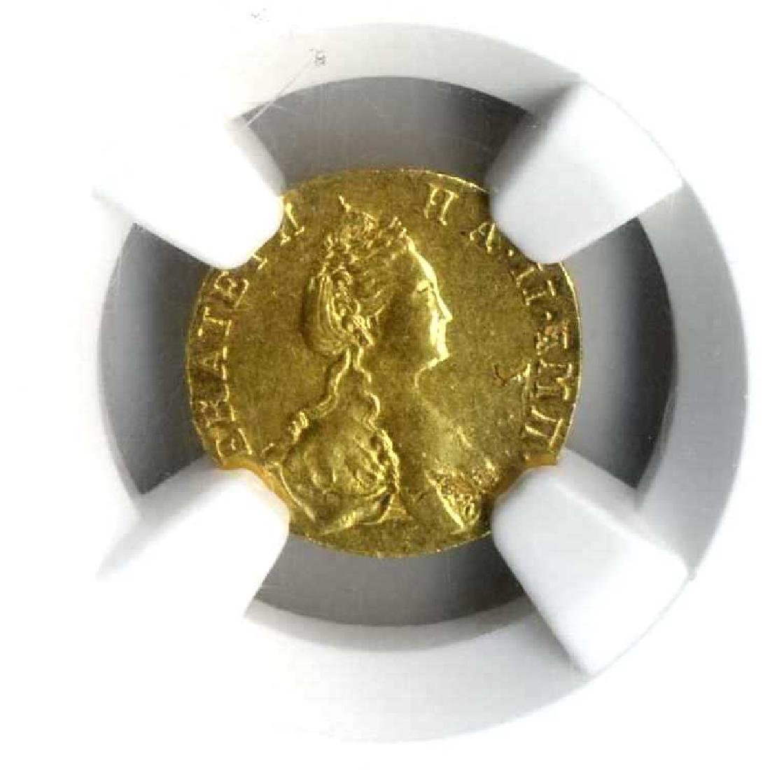 Gold Coin - Russia Poltina - 1777 Graded by the NGC: