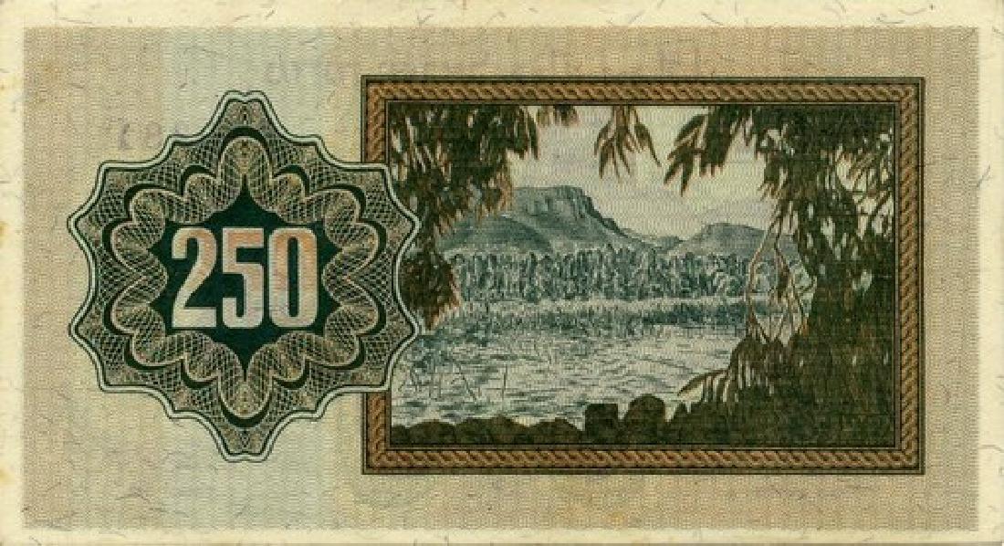 250 Prutah Banknote, Currency Proposal - 1953 - 2