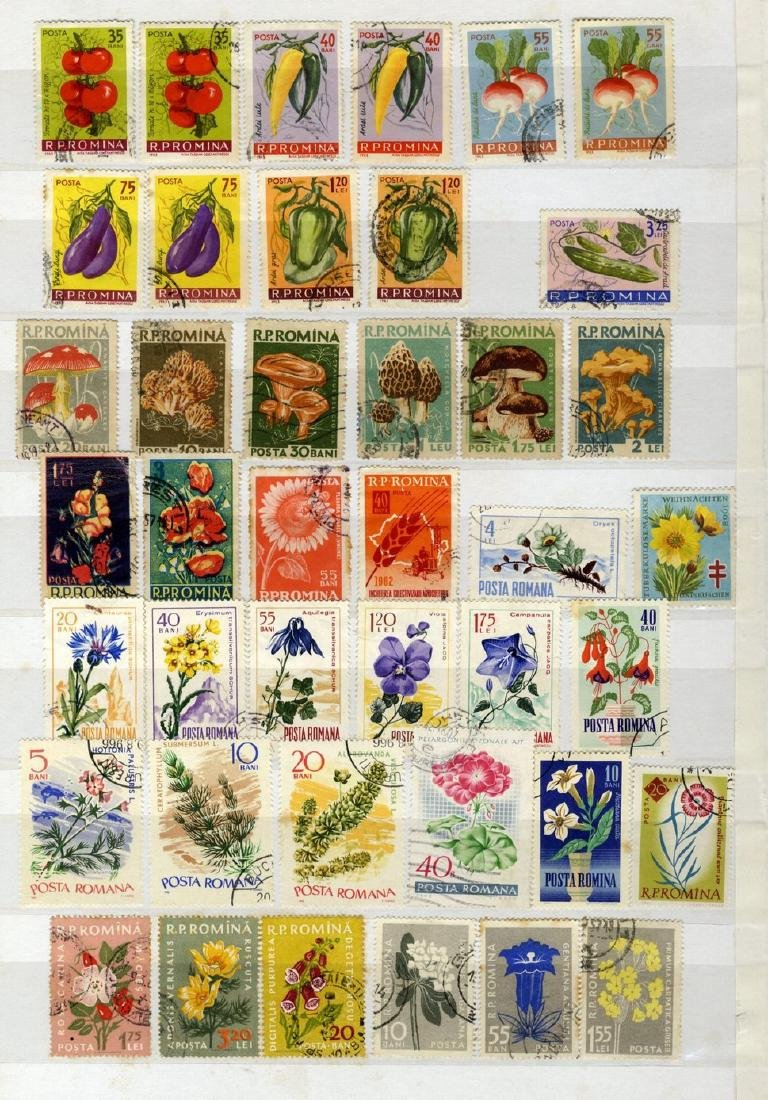 Stamp Collection from all over the World, on the Topic