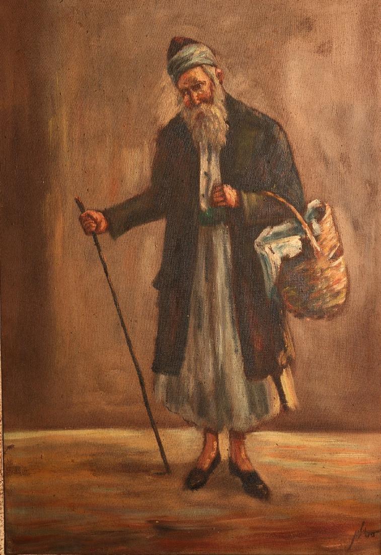 A Jewish sage - Oil Painting by Kabbalist Rabbi Yehuda