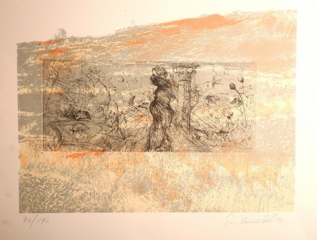 Ivan Shwebel - Signed and Numbered Lithograph