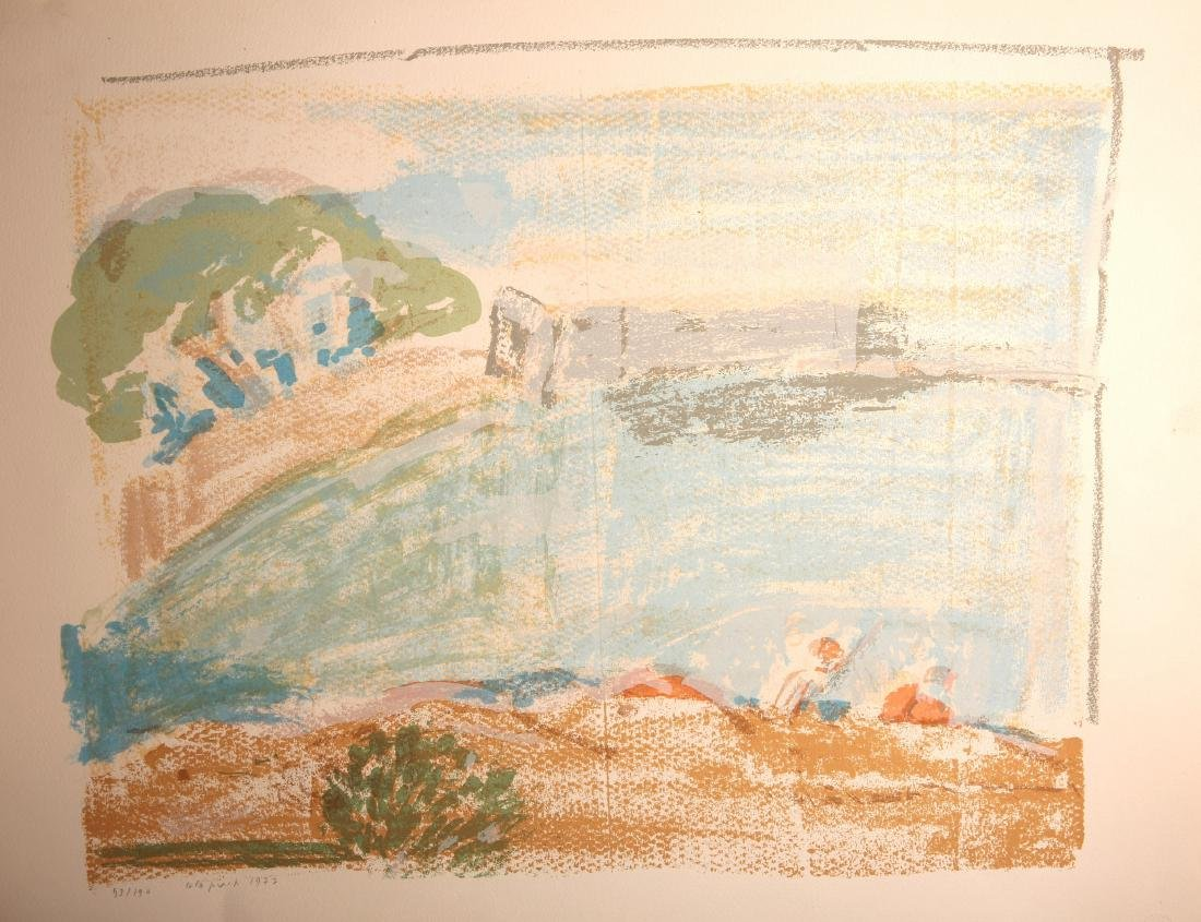 Lillian Klapisch - Signed and Numbered Lithograph