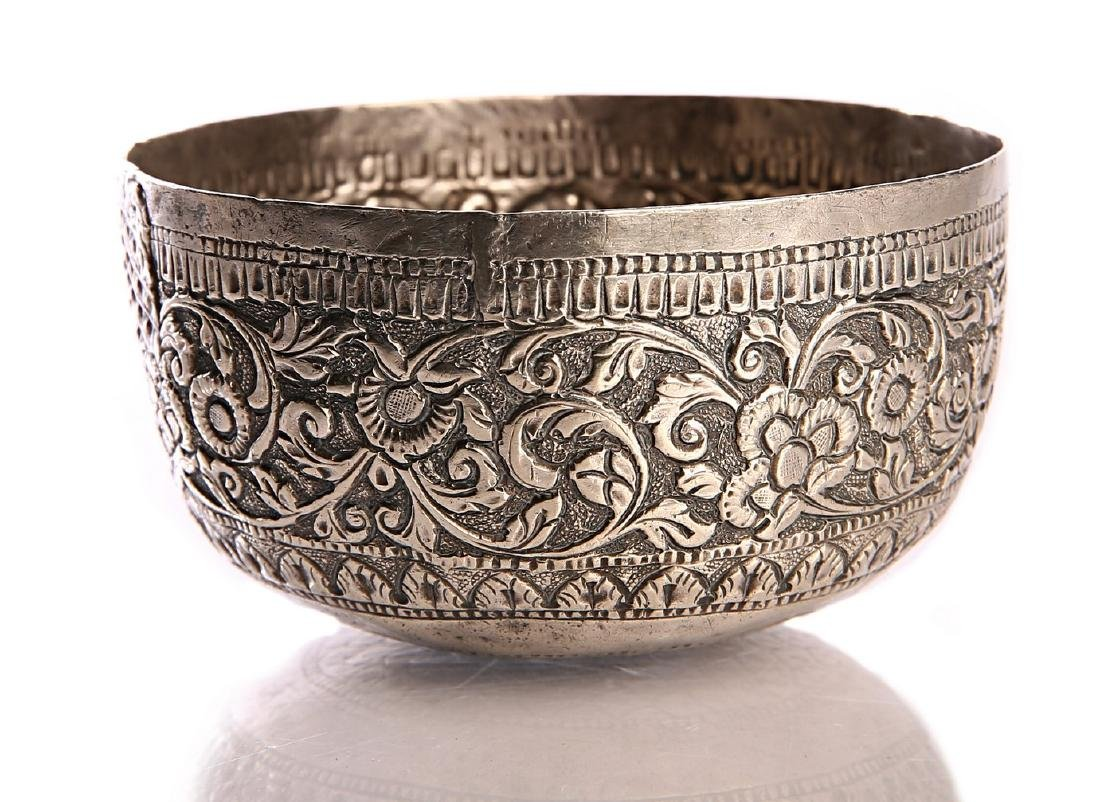 Silver Goblet. Afghanistan. 19th Century
